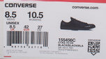 Кеды Converse Chuck Taylor All Star 70 Mono Leather Low Top Black фото- 11