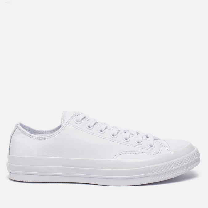 Кеды Converse Chuck Taylor All Star 70 Mono Leather Low Top White