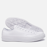 Кеды Converse Chuck Taylor All Star 70 Mono Leather Low Top White фото- 1