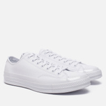 Кеды Converse Chuck Taylor All Star 70 Mono Leather Low Top White фото- 2