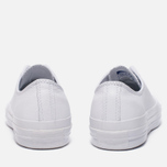 Кеды Converse Chuck Taylor All Star 70 Mono Leather Low Top White фото- 3