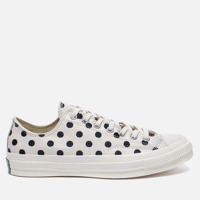 Кеды Converse Chuck Taylor All Star 70 Polka Dots Parchment/Black/Natural
