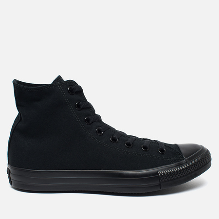 Converse Chuck Taylor All Star Core Hi Plimsoles Black Monochrome