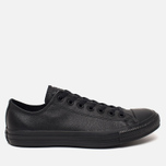 Кеды Converse Chuck Taylor All Star Leather Black фото- 0