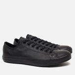Кеды Converse Chuck Taylor All Star Leather Black фото- 1