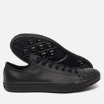Кеды Converse Chuck Taylor All Star Leather Black фото- 2