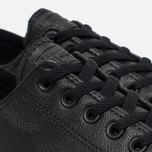 Кеды Converse Chuck Taylor All Star Leather Black фото- 5