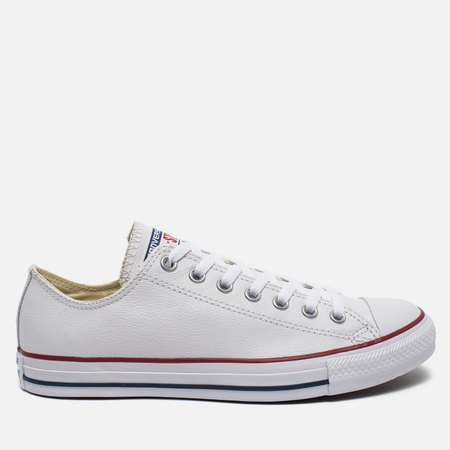 Кеды Converse Chuck Taylor All Star Leather Low Top White