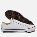 Кеды Converse Chuck Taylor All Star Leather Low Top White фото- 1