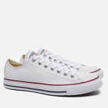 Кеды Converse Chuck Taylor All Star Leather Low Top White фото- 2