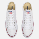 Кеды Converse Chuck Taylor All Star Leather Low Top White фото- 4