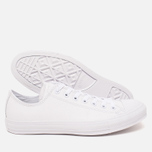 Кеды Converse Chuck Taylor All Star Leather White фото- 2