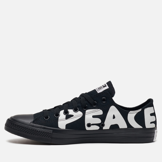 Кеды Converse Chuck Taylor All Star Low Peace Black/White