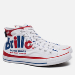 Кеды Converse Chuck Taylor All Star Warhol High Top White/Red/Blue фото- 2