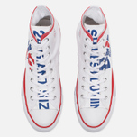 Кеды Converse Chuck Taylor All Star Warhol High Top White/Red/Blue фото- 4