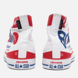 Кеды Converse Chuck Taylor All Star Warhol High Top White/Red/Blue фото- 5