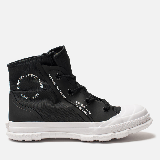Кеды Converse Chuck Taylor Mountain Club 18 High Top Gore-Tex Black White  ... 3e39f396c