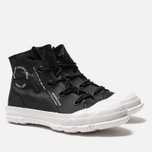 Кеды Converse Chuck Taylor Mountain Club 18 High Top Gore-Tex Black White  фото 4d66cd1f5