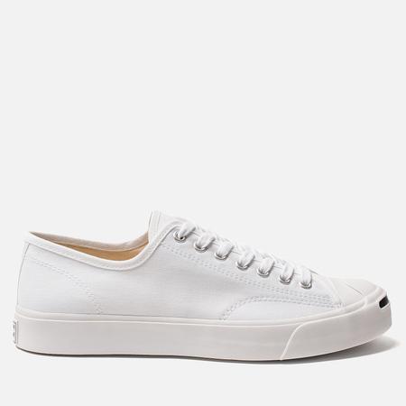 Кеды Converse Jack Purcell Gold Standard White/White/Black