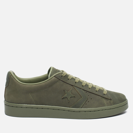 Кеды Converse Pro Leather '76 Mono Fatigue Green