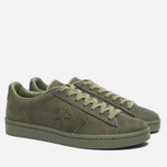 Кеды Converse Pro Leather '76 Mono Fatigue Green фото- 1