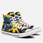 Кеды Converse x Batman Chuck Taylor All Star High Black/White/Lemon Chrome фото - 0