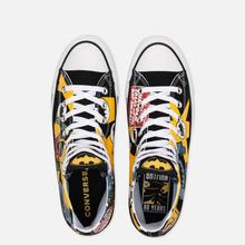 Кеды Converse x Batman Chuck Taylor All Star High Black/White/Lemon Chrome фото- 1