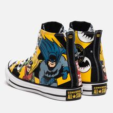 Кеды Converse x Batman Chuck Taylor All Star High Black/White/Lemon Chrome фото- 2