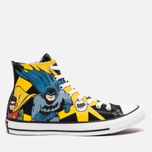 Кеды Converse x Batman Chuck Taylor All Star High Black/White/Lemon Chrome фото- 3