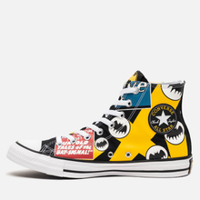 Кеды Converse x Batman Chuck Taylor All Star High Black/White/Lemon Chrome фото- 5