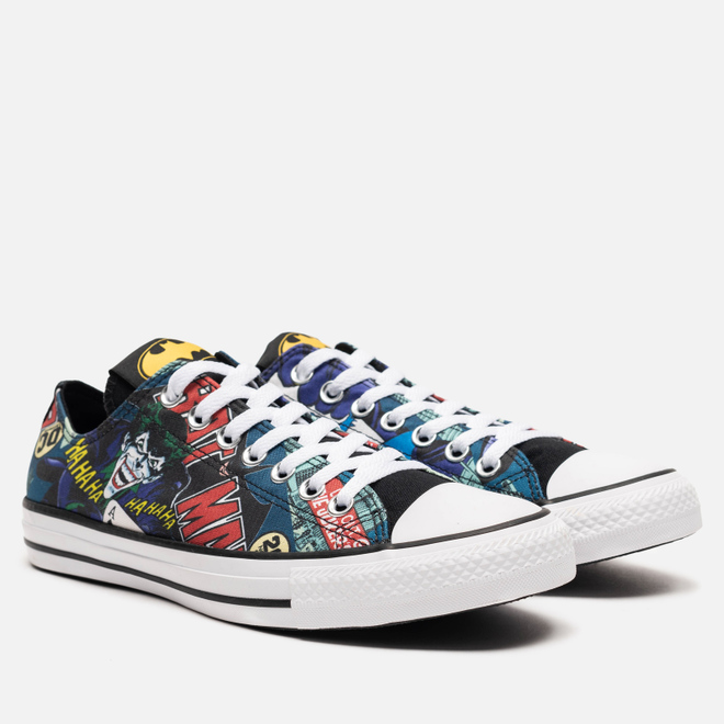 Мужские кеды Converse x Batman Chuck Taylor All Star Low White/Black/Multi