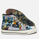 Мужские кеды Converse x DC Comics Chuck Taylor All Star '70 Batman Black Print/White фото- 2