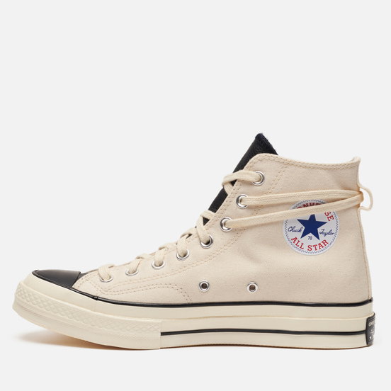 Мужские кеды Converse x Fear of God ESSENTIALS Chuck Taylor 1970 Hi Natural Ivory