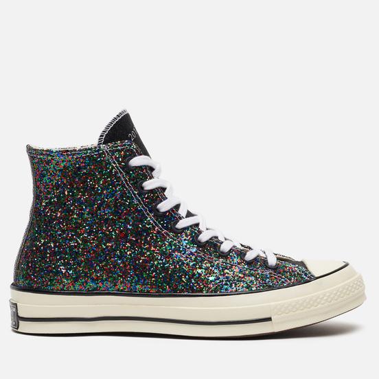 Кеды Converse x JW Anderson Chuck 70 Glitter High Black