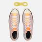 Кеды Converse x JW Anderson Chuck 70 Glitter High Medium Orange фото - 1