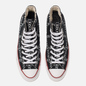 Кеды Converse x JW Anderson Chuck 70 High Black/White/Insignia Red фото - 1