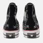 Кеды Converse x JW Anderson Chuck 70 High Black/White/Insignia Red фото - 2