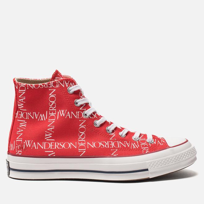 Кеды Converse x JW Anderson Chuck 70 High Flame Scarlet/White/White