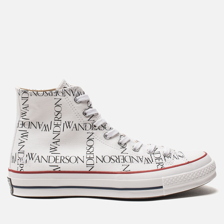 Кеды Converse x JW Anderson Chuck 70 High White/Black/Insignia Red