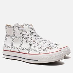 Кеды Converse x JW Anderson Chuck 70 High White/Black/Insignia Red