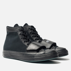 Кеды Converse x Neighborhood Chuck 70 Moto High Black/Black/Black