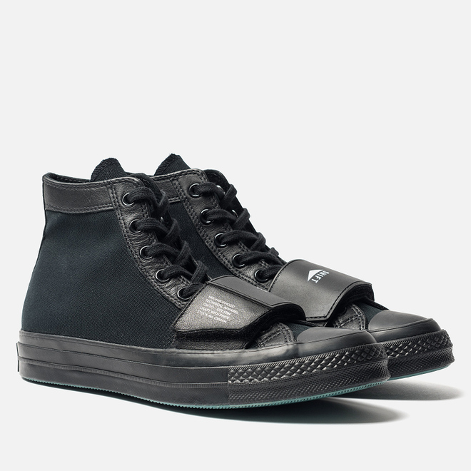 Кеды Converse x Neighborhood Chuck 70 Moto High Black/Black/Black