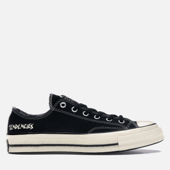 Кеды Converse x Suicidal Tendencies All Star Chuck 70 Low Black/Black/Egret