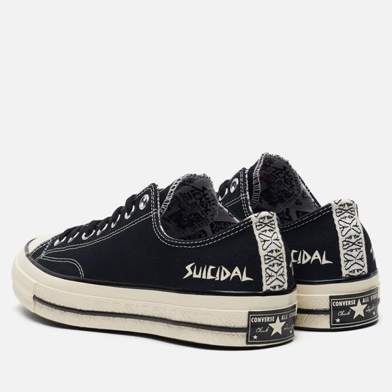 Кеды Converse x Suicidal Tendencies All Star Chuck 70 Low Black/Black/Egret