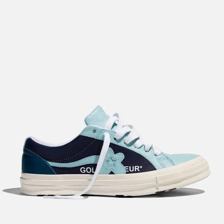 Кеды Converse x Tyler The Creator Golf le Fleur One Star Barely Blue/Patriot Blue/Egret