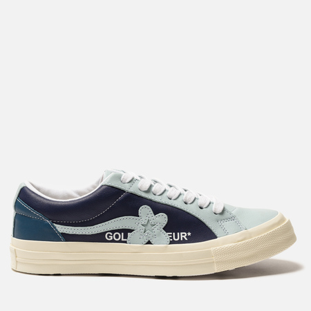 Кеды Converse x Tyler The Creator Golf le Fleur One Star Barely Blue/Patriot Blue/Egret