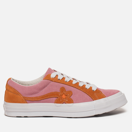 Кеды Converse x Tyler The Creator Golf le Fleur One Star Candy Pink/Orange Peel/White