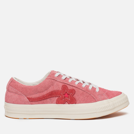 Кеды Converse x Tyler The Creator Golf le Fleur One Star OX Geranium Pink