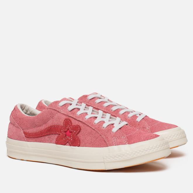 Кеды Converse x Tyler The Creator Golf le Fleur One Star OX Geranium Pink