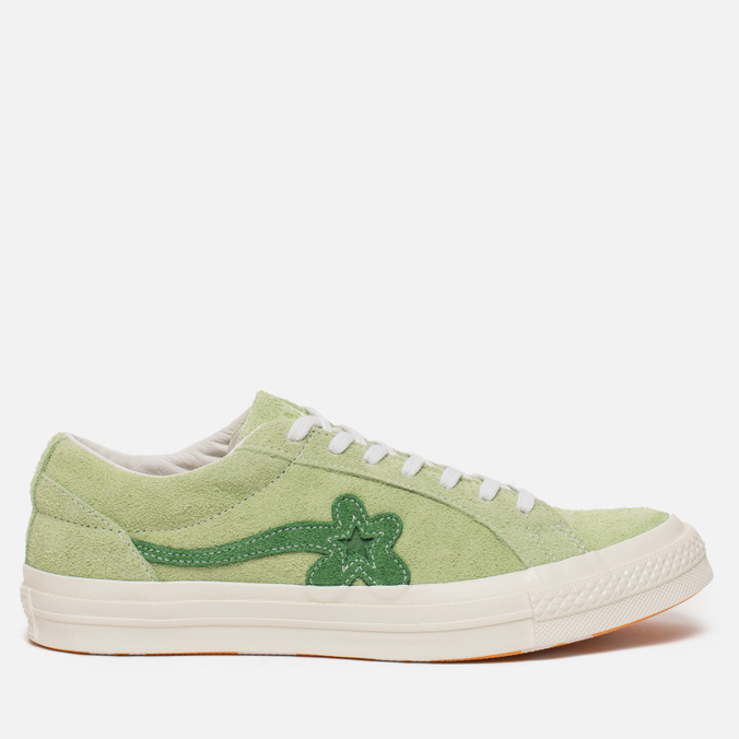 Кеды Converse x Tyler The Creator Golf le Fleur One Star OX Jade Lime/Mint Green